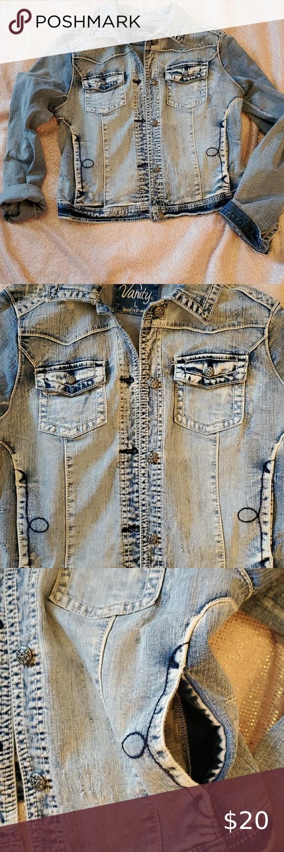 Vanity Faded Distressed Jean Jacket In 2020 Distressed Jean Jacket Jean Jacket Distressed Denim Jacket [ 1740 x 580 Pixel ]