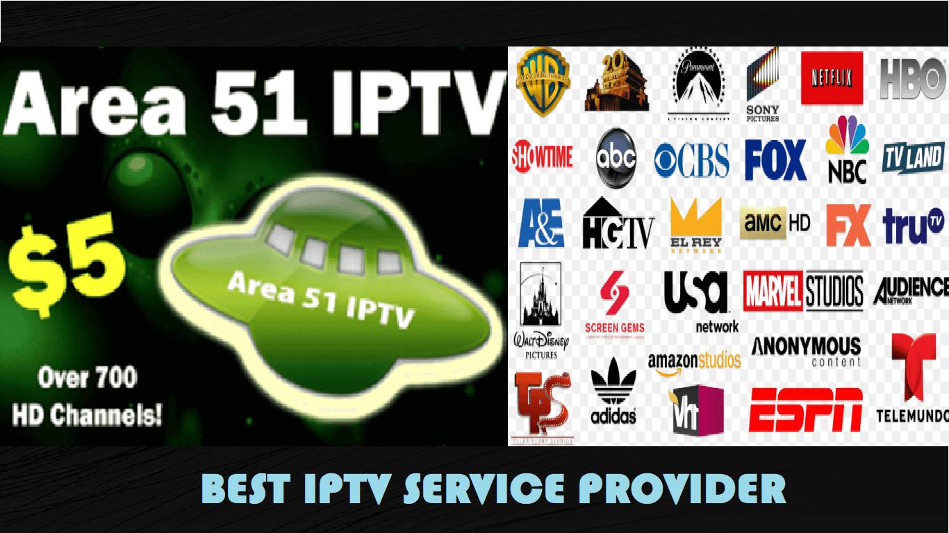 Area 51 IPTV Kodi, Live channels, Live tv