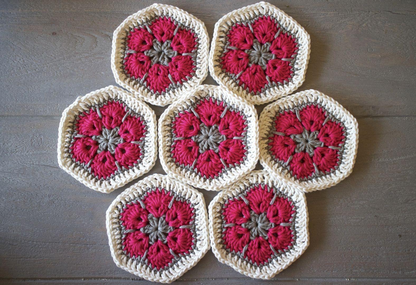 Afrikaanse Bloemen Haken African Flower Crochet Dimfies