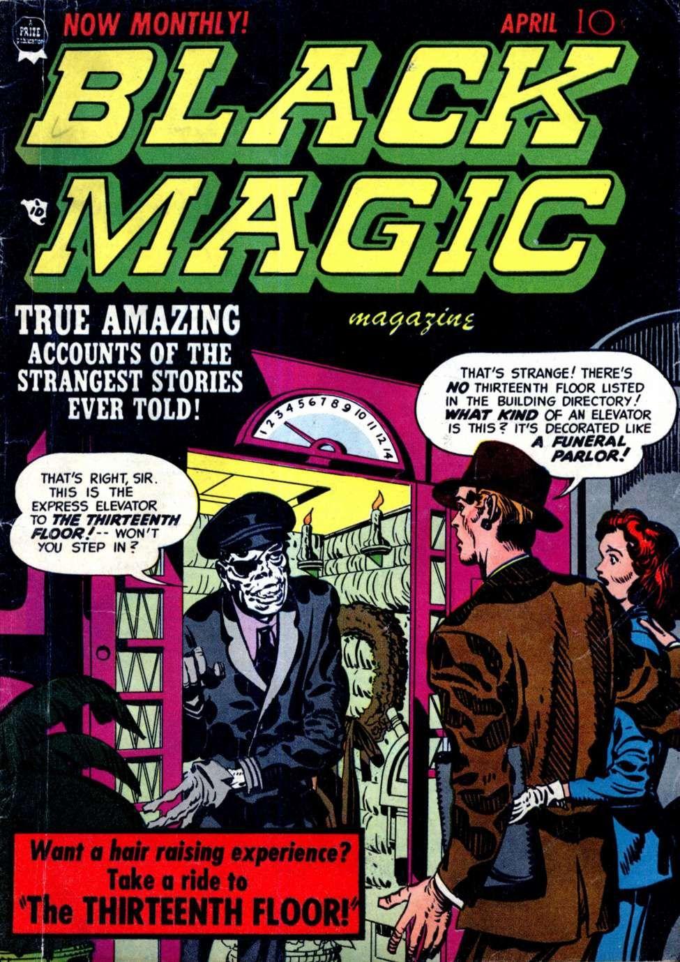 Black Magic V2 5 11 Prize Vintage Comic Books Comic Books Comics