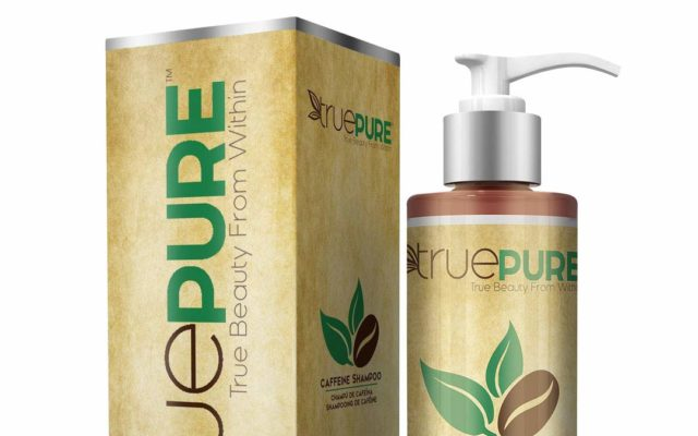 TruePure Natural Caffeine Shampoo 22.75 (REG 49.99) in