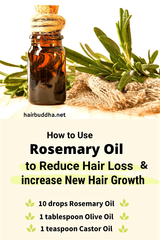 Why Use Rosemary Oil for Hair Growth (and Reduce Hair Loss) - hair buddha
