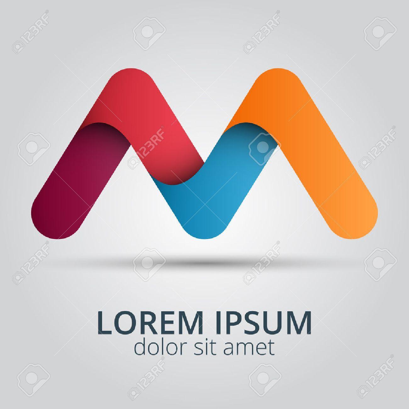 Letter M Logo Icon Design Template Elements Creative Design Icon Illustration Aff Icon Design Letter Logo Design Template Letter M Logo Icon Design