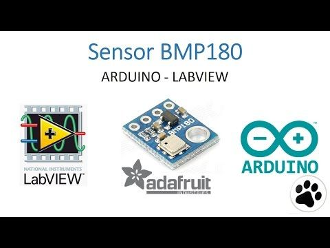 SENSOR BMP180 CON INTERFACE LABVIEW UTILIZANDO ARDUINO - YouTube