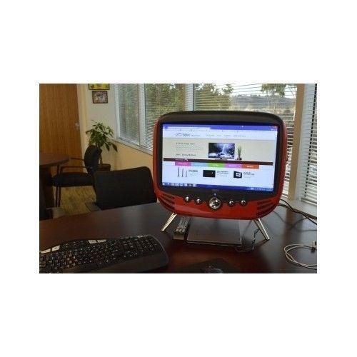 Digital LED HDTV HDMI Retro 60's Vintage Flat Screen TV