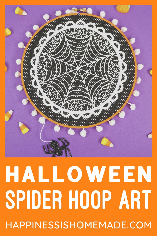 Halloween Hoop 2020 Easy Halloween Hoop Art with Cricut in 2020 | Hoop art, Easy