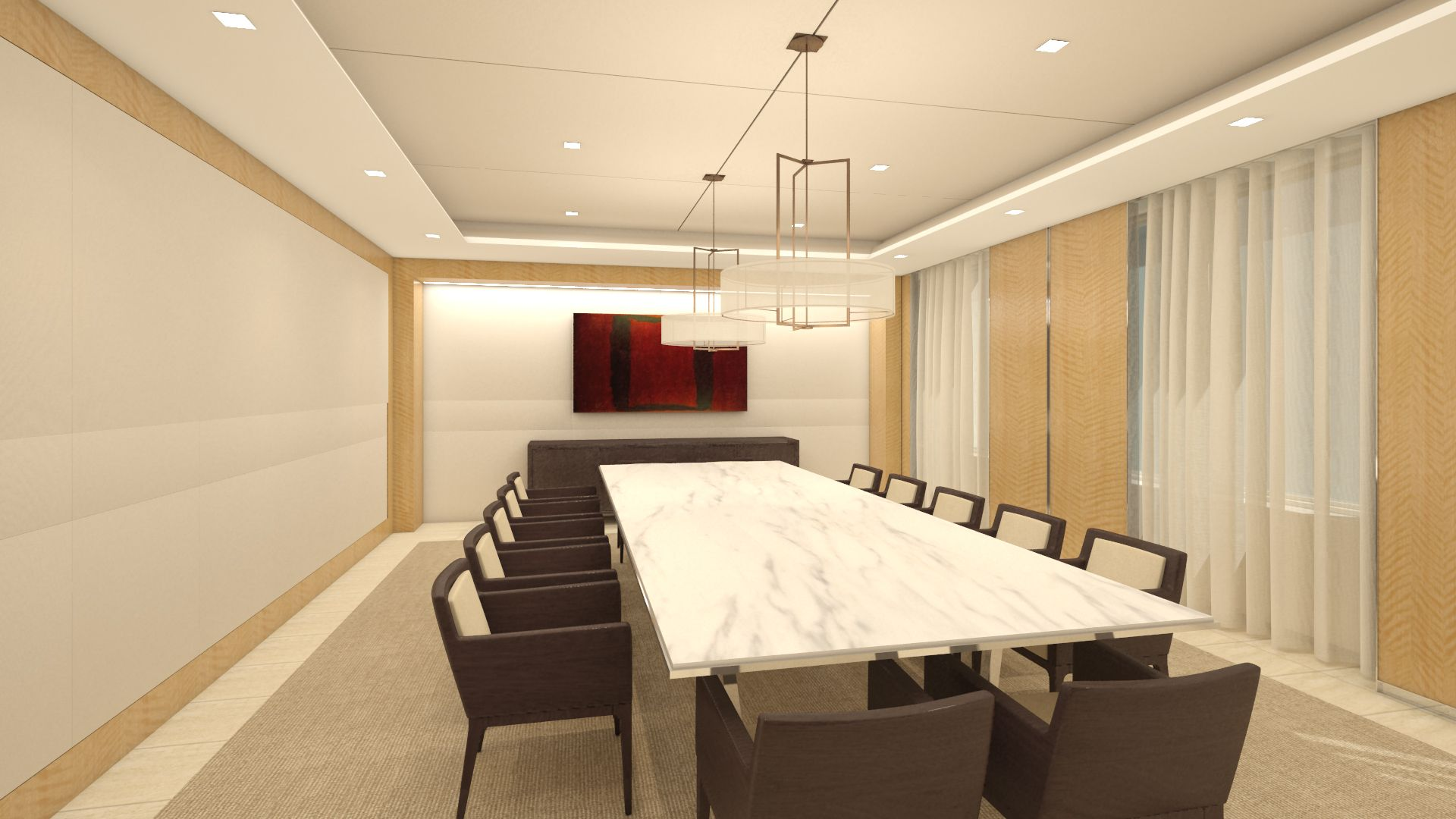 elegant office conference room design wooden. Interior Designs,Elegant Office Meeting Room Decor With Simple Rectangular White Wooden Table And Comfortable Armchair Also Gorgeous Window Elegant Conference Design !