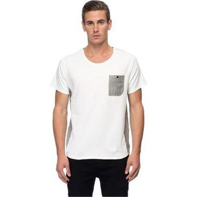 Two Square - Right Back Tee - T-Shirts & Singlets (Ecru) - http://www.fashionshop.net.au/shop/the-iconic-clothing-t-shirts-singlets-basic-t-shirts/two-square-right-back-tee-t-shirts-singlets-ecru/ #BasicTShirts, #Clothing, #TShirtsSinglets, #TheIconic #fashion #fashionshop