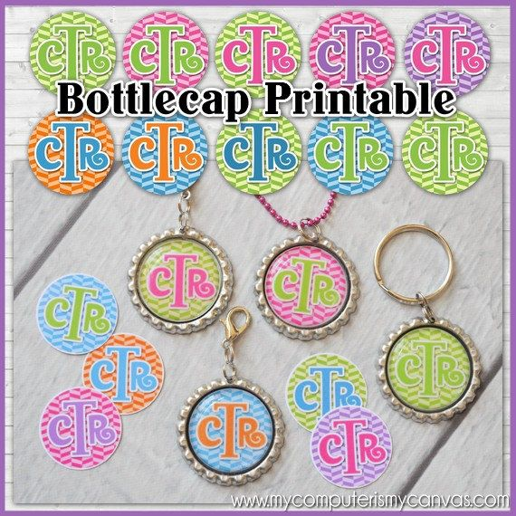 CTR Bottle Cap Images, Primary LDS Choose the Right, INCHIE ...