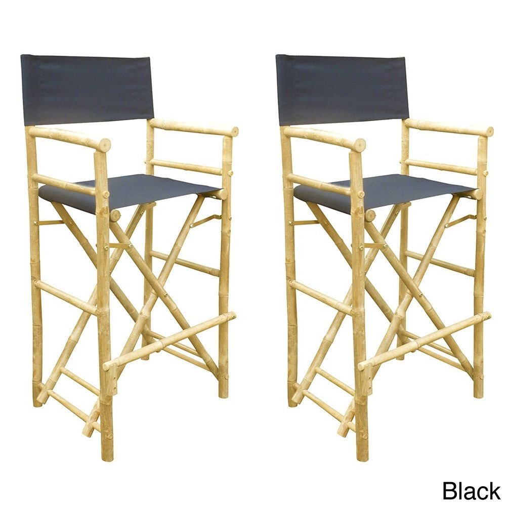 phat tommy foldable tall directors chair s