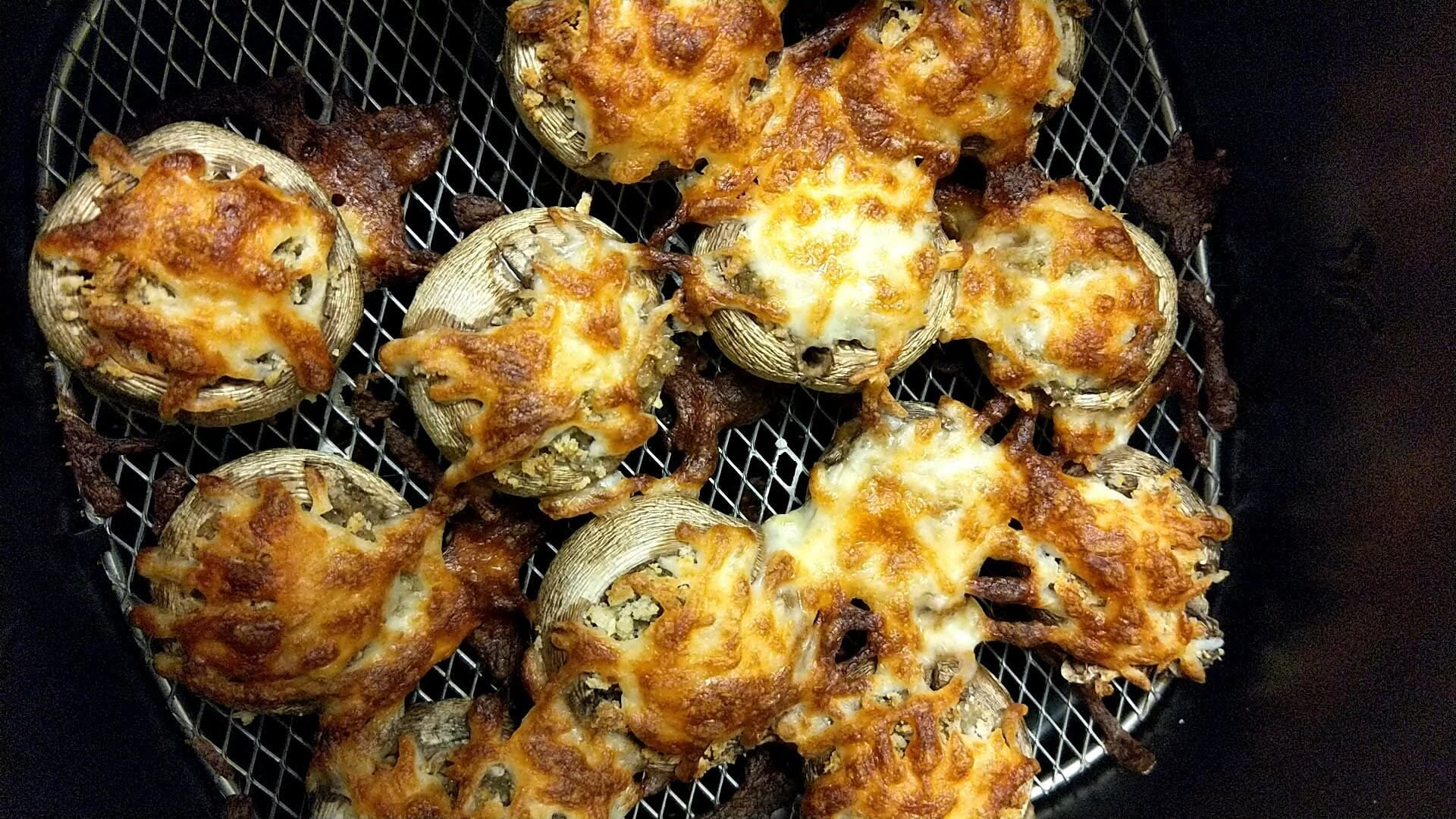 Stuffed Mushrooms Your Way Oven or Air Fryer Stuffed