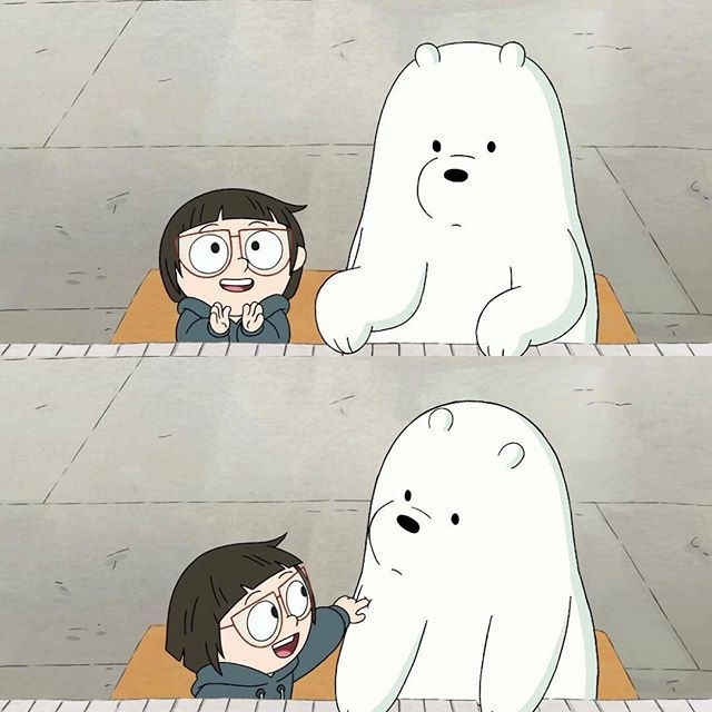 Tag Your Best Friend You Would Never Forget Webarebears Chloe Icecream Bestfriend We Bare Bears Bear Wallpaper Bare Bears