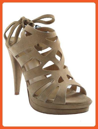 Womens Davinci High Heel Italian Sandals Size 41 M Eu Sandals For