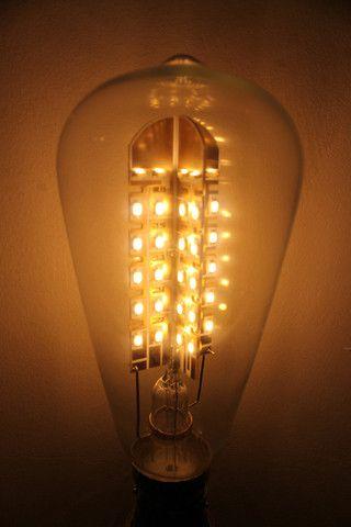 Edison Bulb Quad Loop Tear Drop Bulb Dimmable Led Lights Arch Light