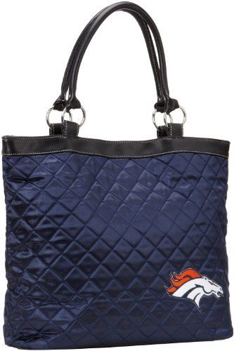Denver Broncos Quilted Tote, Navy by Little Earth. $32.80. Save 16% Off!