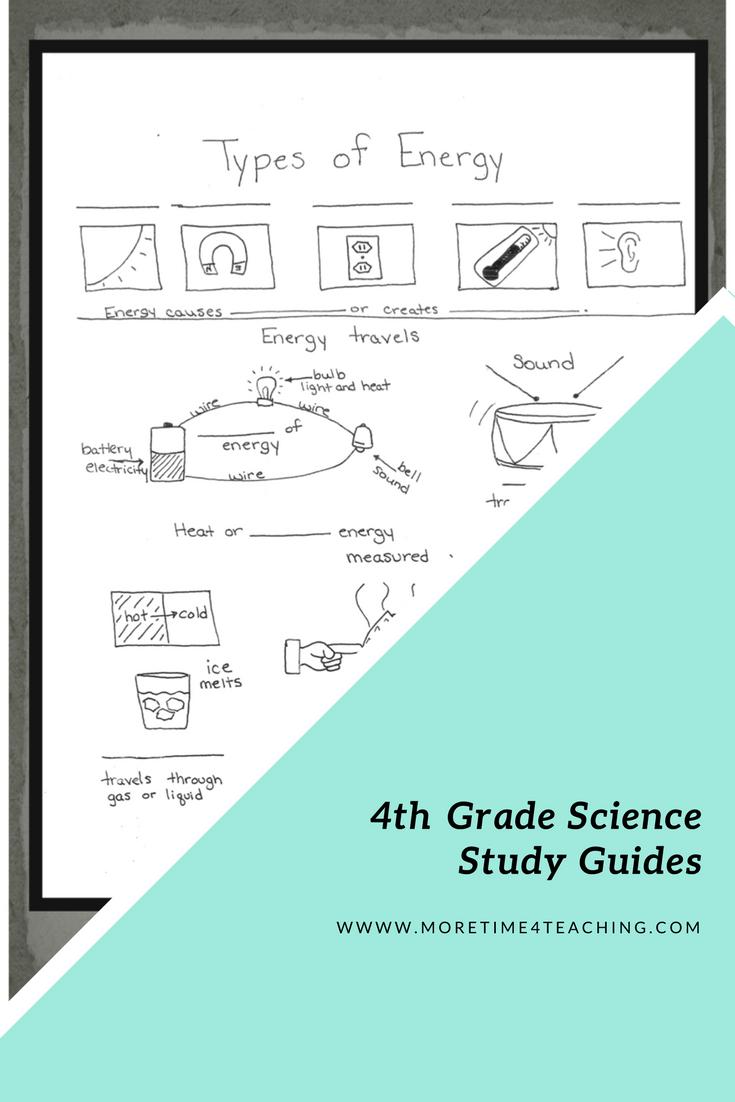 4th Grade Science Study Guides Pinterest Homeschool And Teacher