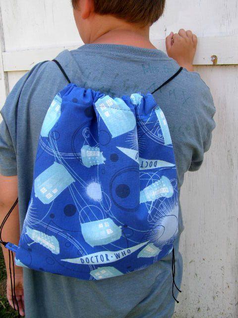 Doctor Who Backpack Dr. Dalek TARDIS geek ToTe Purse bag gift