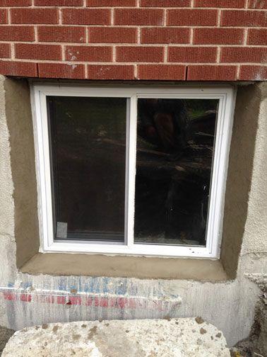 Elegant Basement with Windows