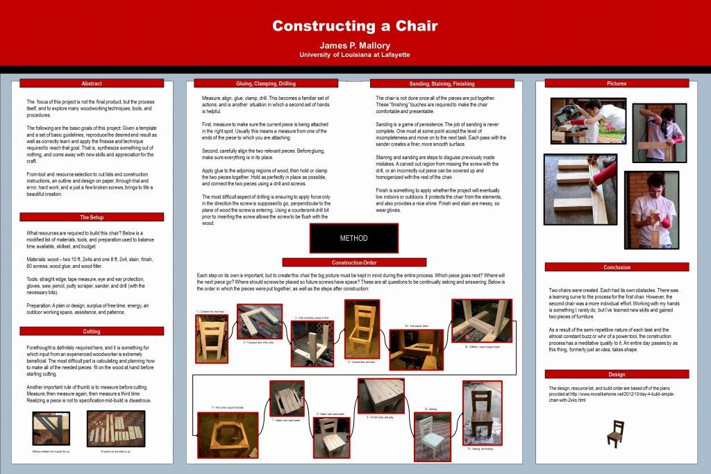 poster board template science fair