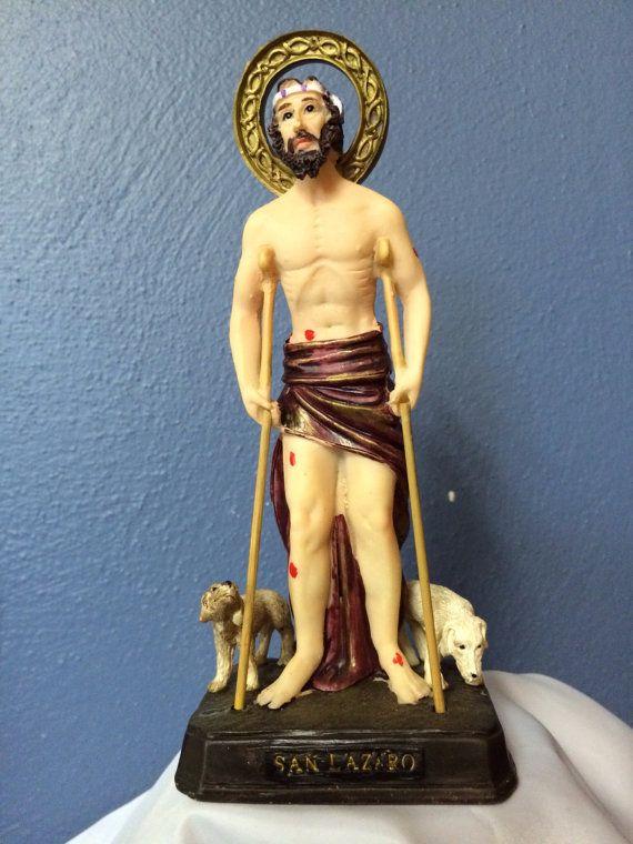 6 inch San Lazaro Saint Lazarus Catholic Saint Religious