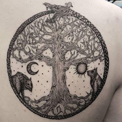Image Result For Yggdrasil Tattoo Tatts Pinterest Tattoos