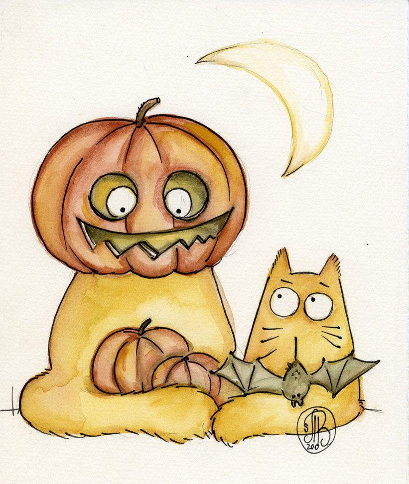 Картинки смешные рисованные котики