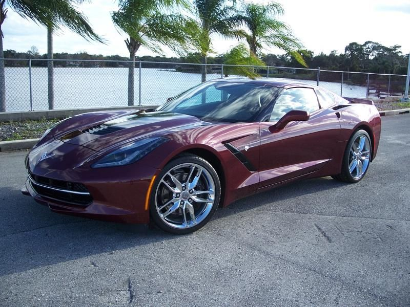 2016 Corvette Coupe for sale Florida 2016 Long Beach Red