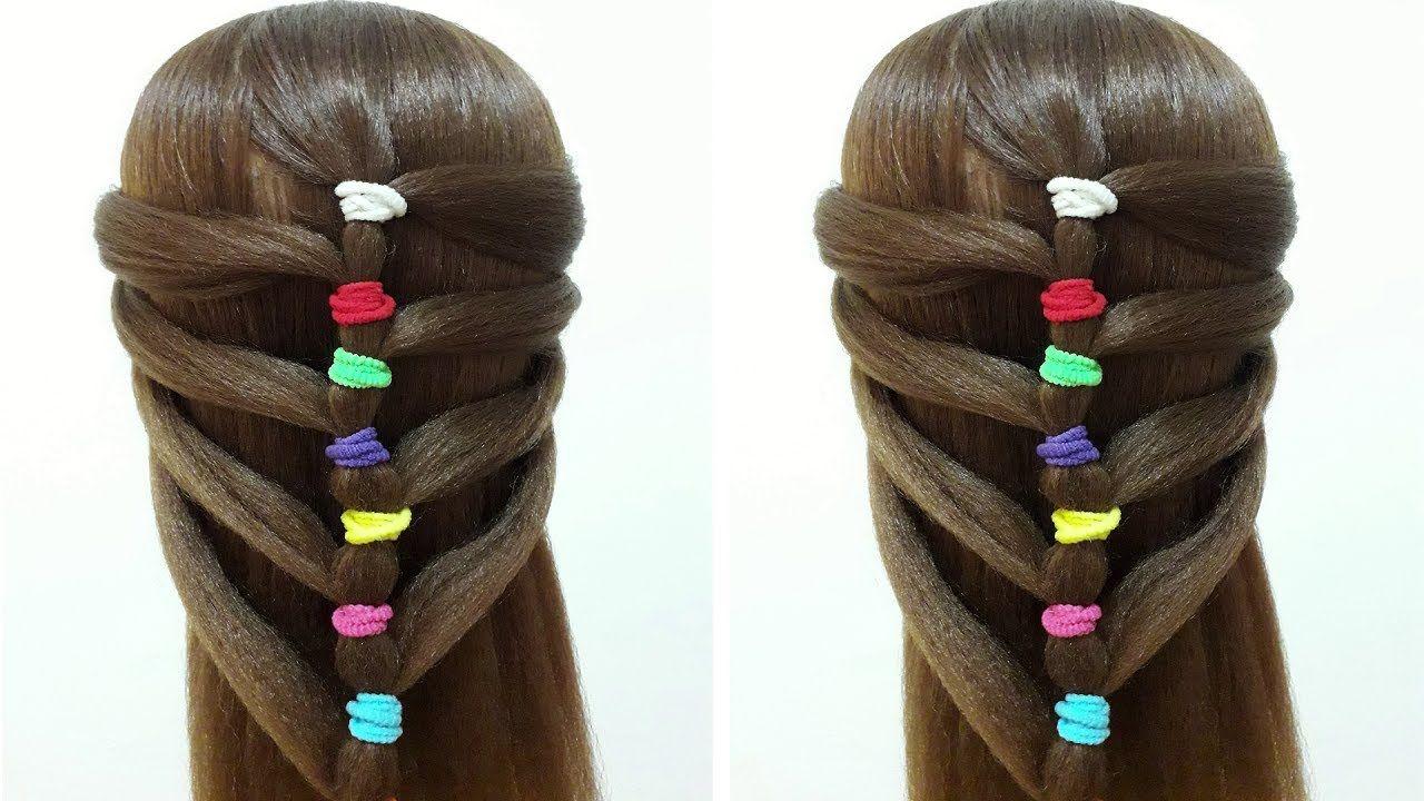Bonito y cómodo peinados faciles y bonitos Imagen de ideas de color de pelo - PEINADO FACIL Y BONITO PARA EL VERANO EN 2 MINUTOS PARA ...
