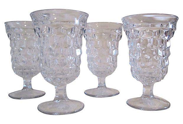 Water Goblets, Set of 4 on OneKingsLane.com