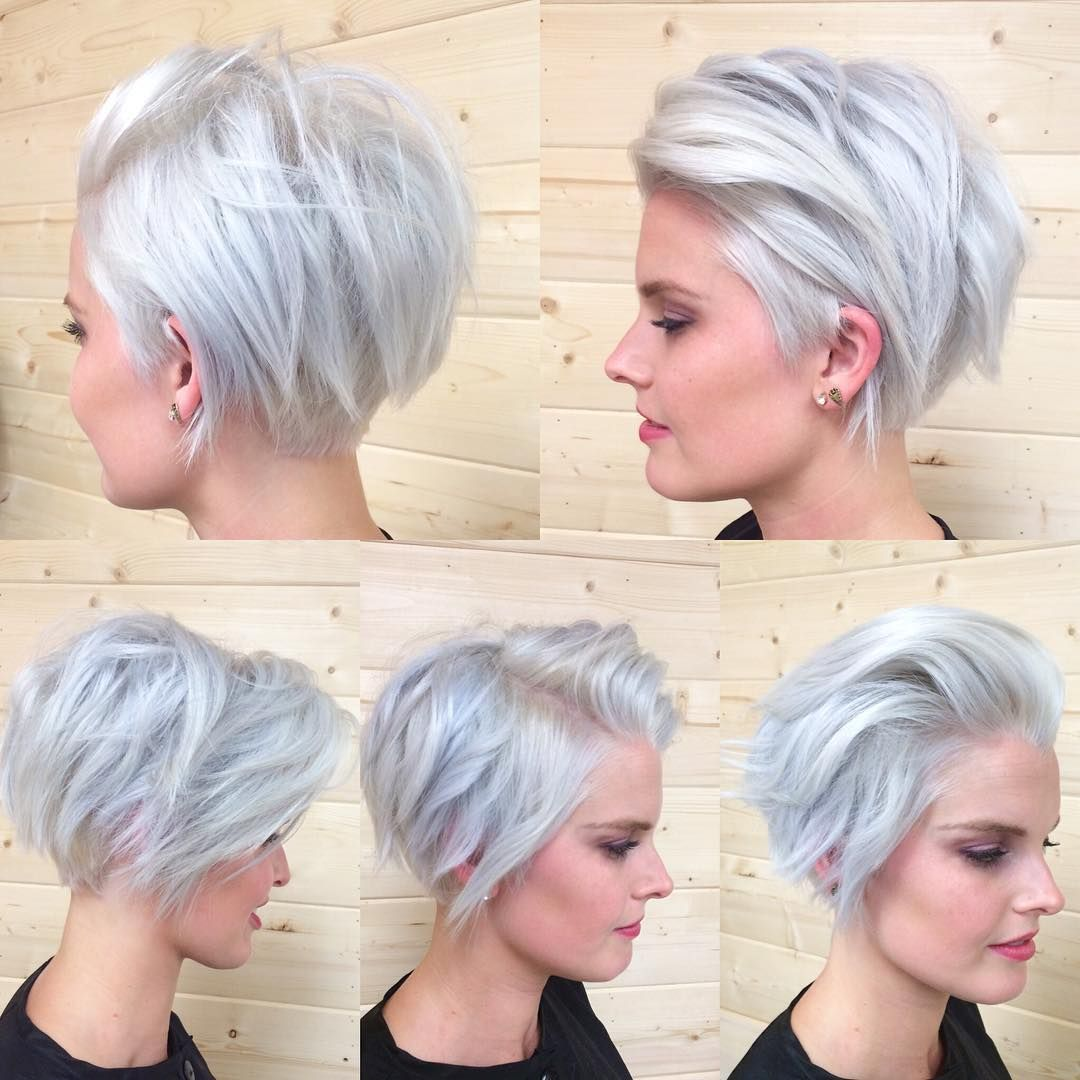 Cut and color cool hair pinterest hairspray pixies and short hair