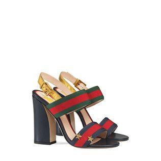 265279ab76d Grosgrain Web sandal by Gucci. Aline grosgrain web sandal. Aline grosgrain  web sandal Women s Shoes ...