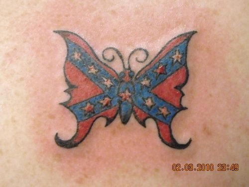 Pin On Southern Butterfly Tattoos