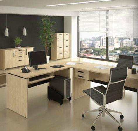 Oficina minimalista oficinas modernas pinterest for Estilos de oficinas modernas
