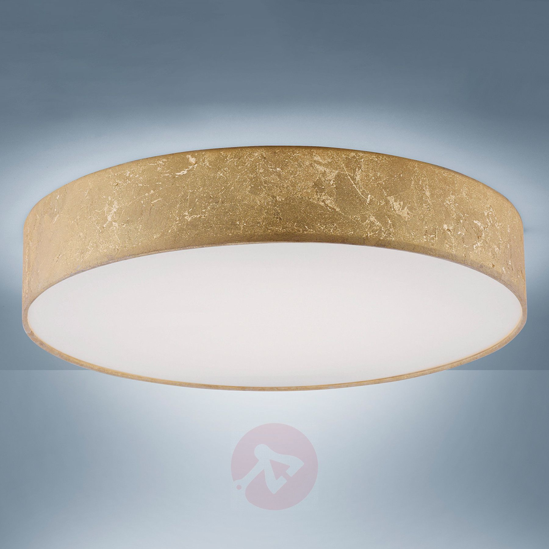 Verrassend Paul Neuhaus Q-KIARA Textil-Deckenlampe in GoldArt.-Nr RP-71