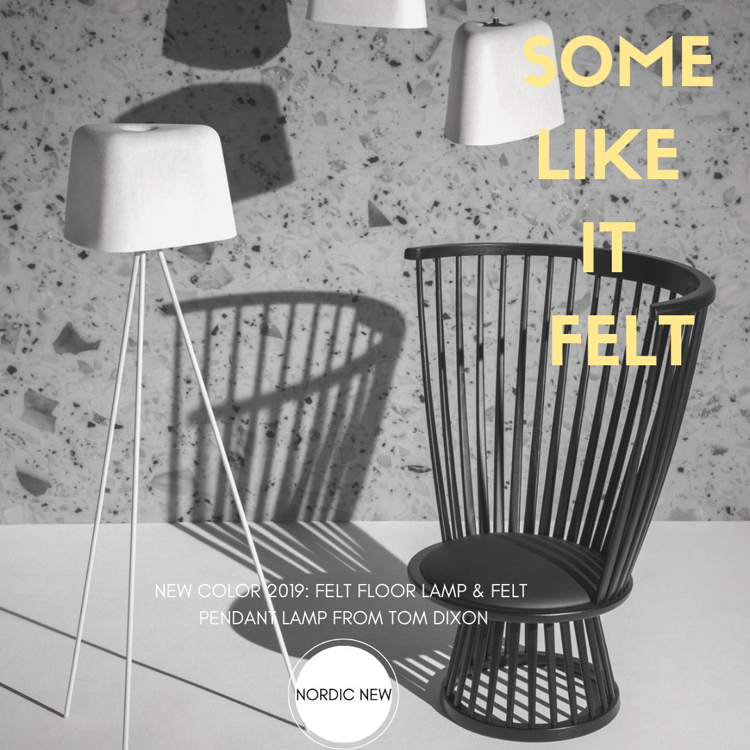 Some Like It Felt Vloerlamp Tom Dixon Designverlichting