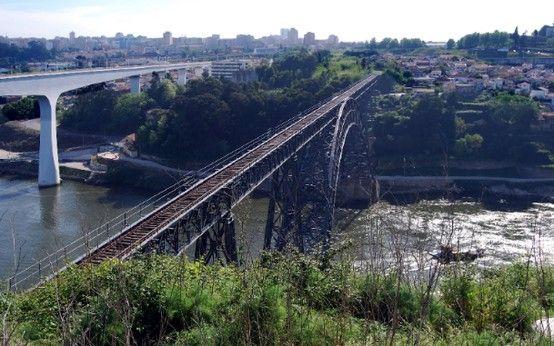 ponte de S. JOÃO + Dona Maria Pina