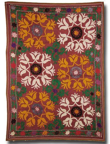 Vintage Suzani, Wall Hanging or Bed Throw