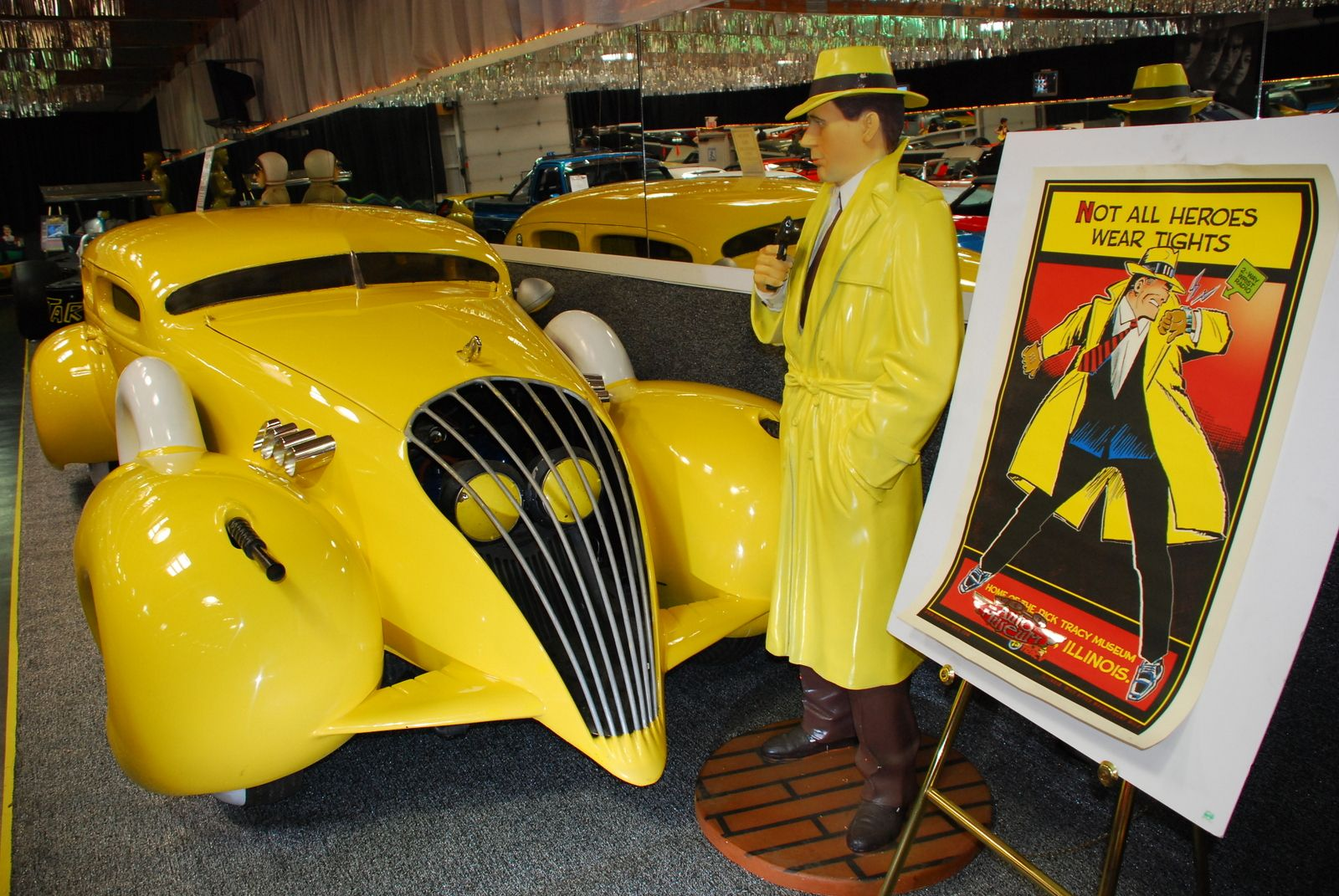 Dick Tracy Car At The Volo Auto Museum Volo Il Www Volocars Com