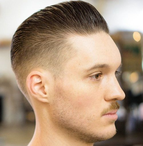 20 Trendy Slicked Back Hair Styles Style De Cheveux Cheveux Gomines Coupe Homme Court