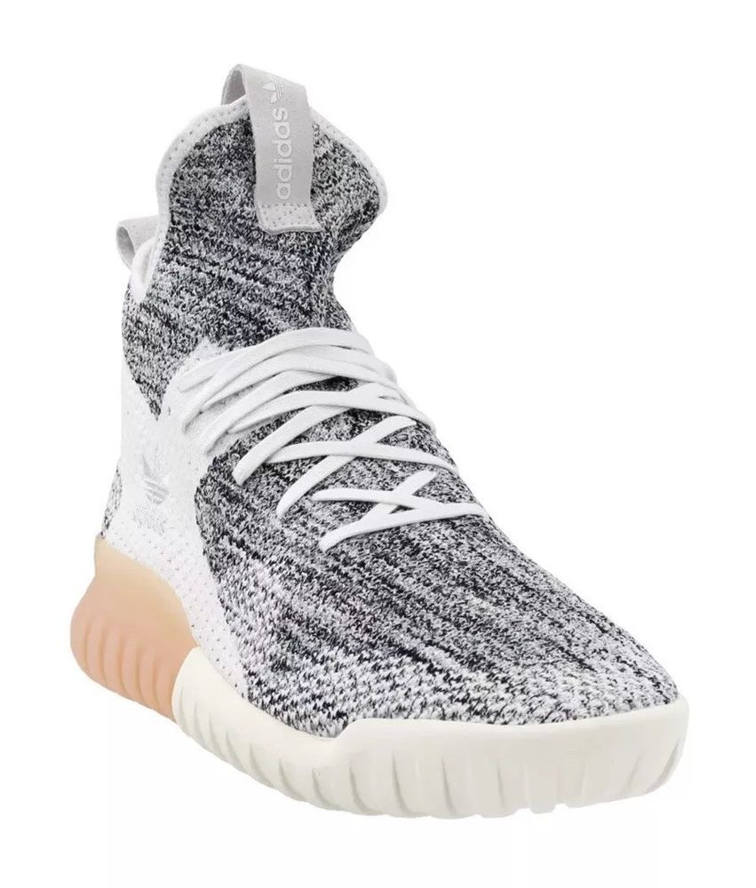 Mus esfuerzo Molde  Adidas Originals Tubular X PK Shoes 10.5 Crystal White Flyknit Primeknit  BY3146 | eBay | Adidas originals tubular, Adidas, Sneakers white
