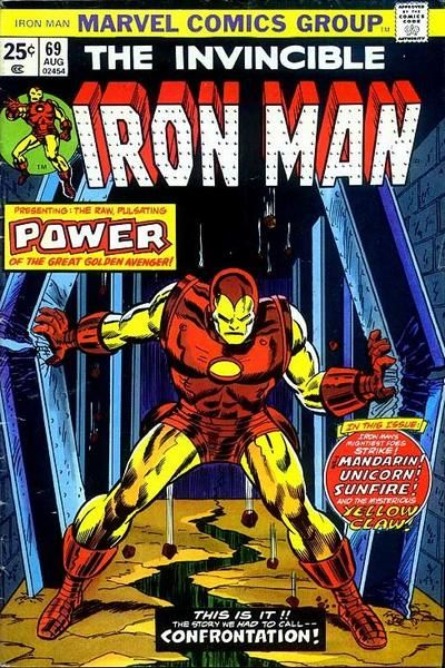 Cover for Iron Man August 1974 #69