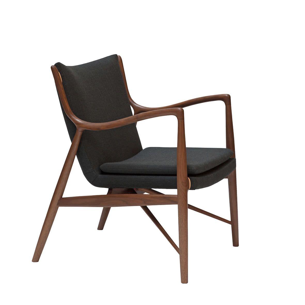 impressionnant fauteuil cuir et bois design