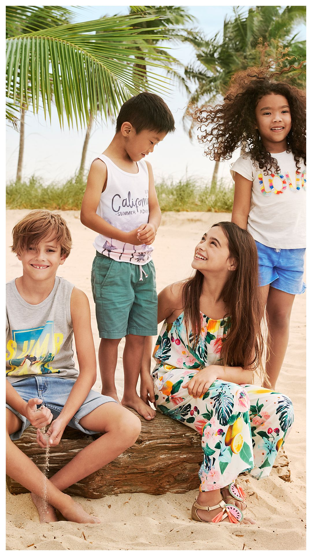 Stock Up On Fun And Fresh Fashion Favorites For Lazy Days And Sunny Skies H M Kids Boys Summer Fashion Kids Summer Fashion Tween Outfits