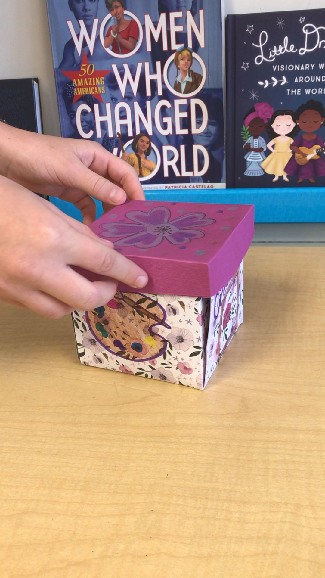 """Exploding Box"" Projects - Women's History Month  #history"