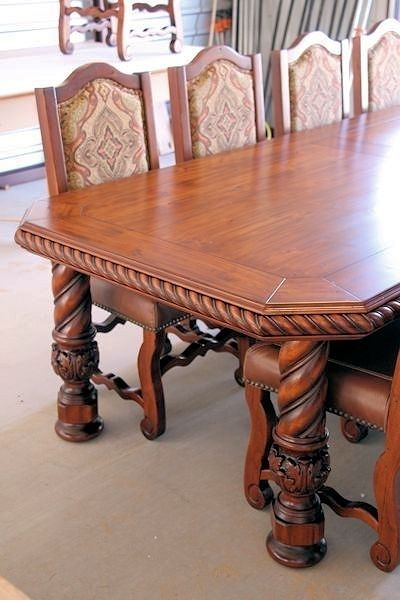 Table Leg Spiral With Acanthus Foot Columns And Newel Posts