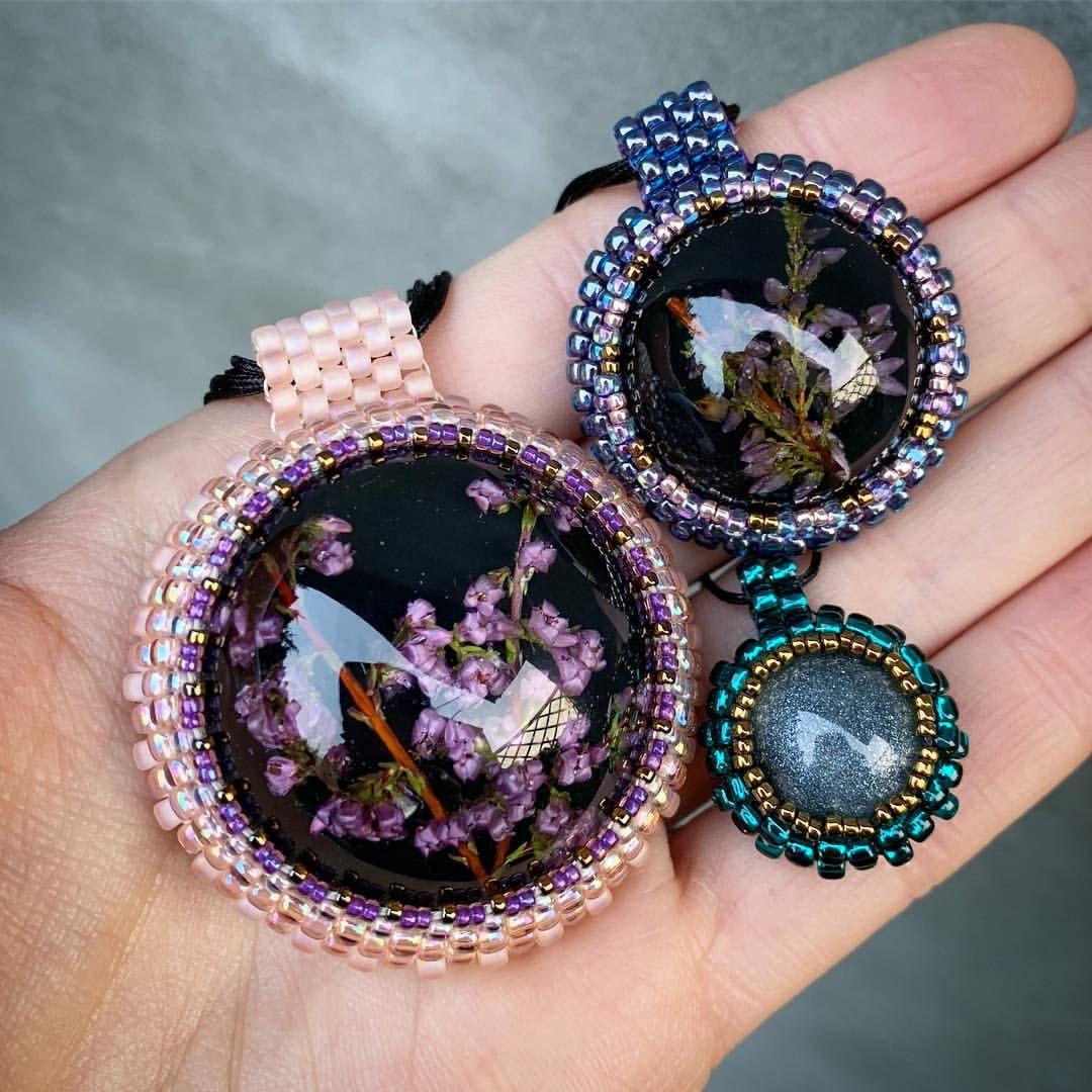 Pin On Resin Beads