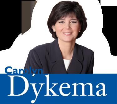 Representative Carolyn Dykema, Re-election
