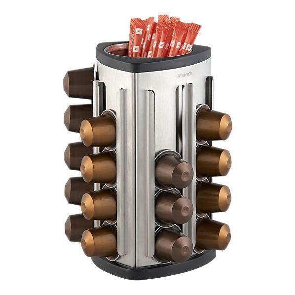 Brabantia® Espresso Capsule Storage Unit In Coffee, Tea Accessories