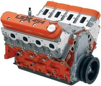 Chevrolet Performance Lsx454 7 4l 454 627hp Crate Engine 19260833
