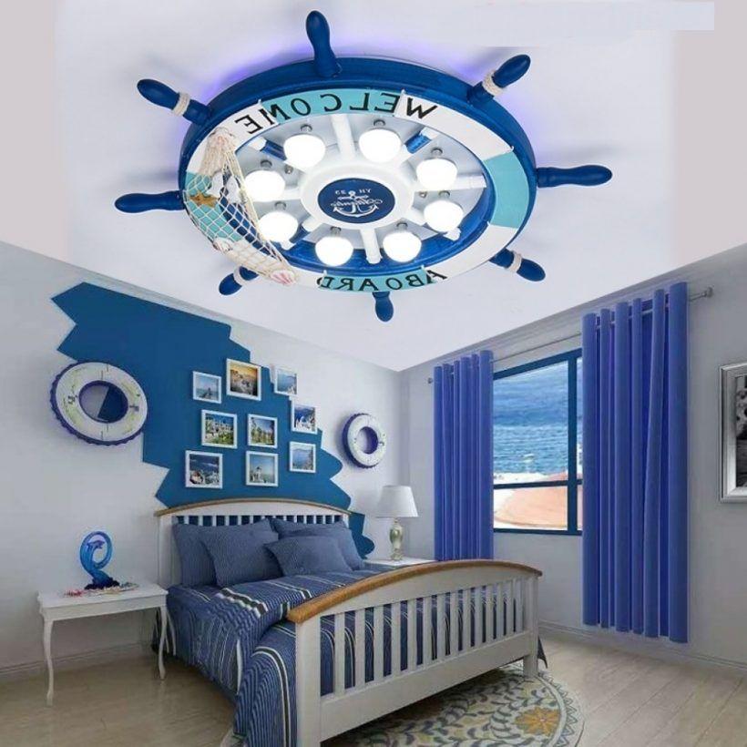 Kids Room Ceiling Light In Boys